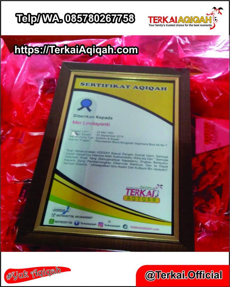 HARGA PAKET AQIQAH BEKASI 085780267758